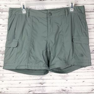 The North Face Gray Cargo Shorts Size 10